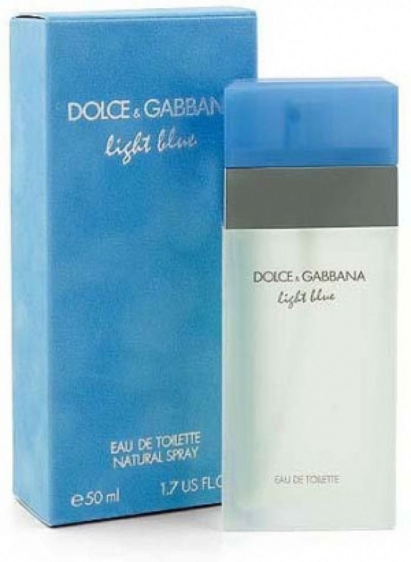 dolce gabbana d g light blue