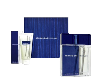 Armand Basi  IN BLUE men   50ml+100s/g SET