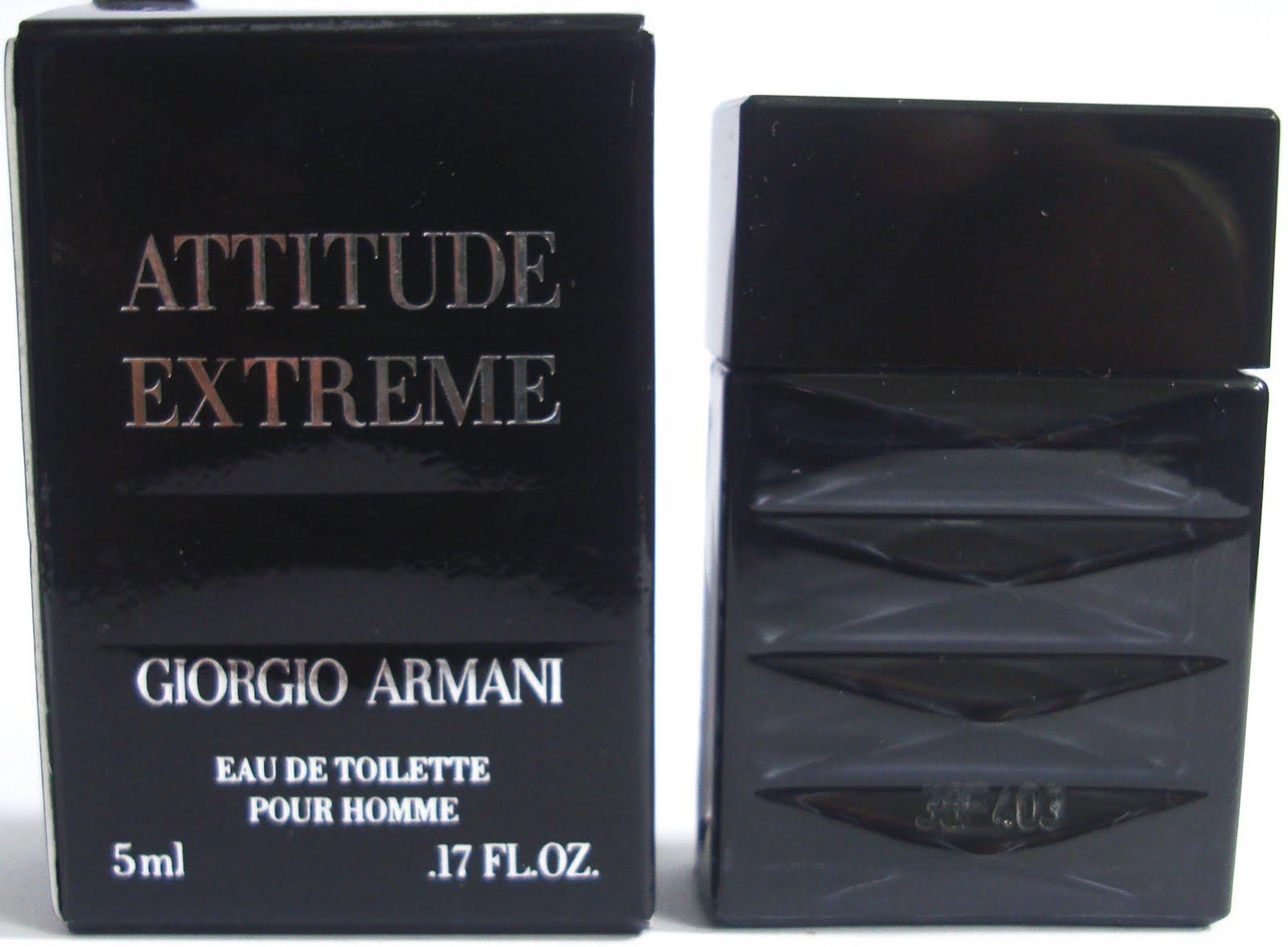 Giorgio Armani Attitude Extreme Men
