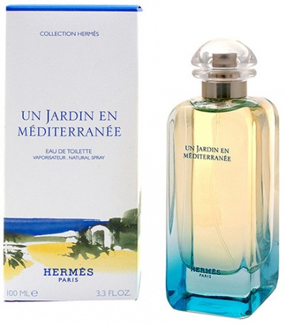 Hermes un jardin en mediterranee 100ml edt - Parfum hermes un jardin en mediterranee ...