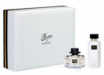 Gucci  FLORA by GUCCI     30ml edt+50 B/L SET