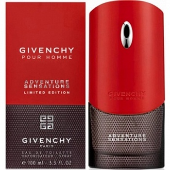 Givenchy  Pour Homme ADVENTURE SENSATIONS men 100ml