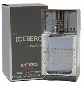 Iceberg  THE ICEBERG FRAGRANCE men   50ml