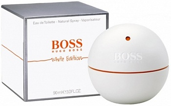 Hugo Boss  In Motion WHITE EDITION men   90ml
