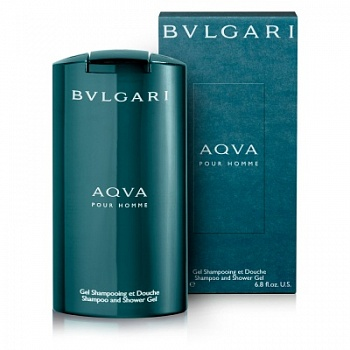 Bvlgari  AQUA men 200ml S/Gel