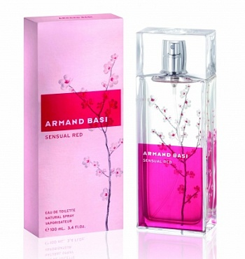 Armand Basi  SENSUAL RED 100ml edt