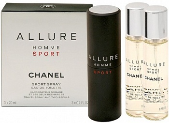 Chanel  Allure SPORT men   3*20ml