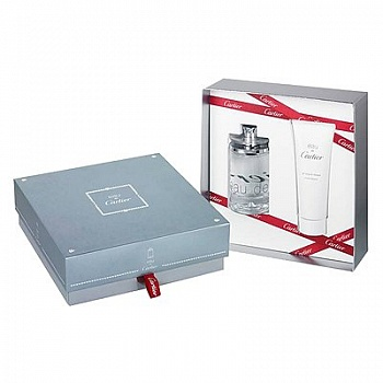 Cartier  EAU DE CARTIER 100ml+100s/g SET