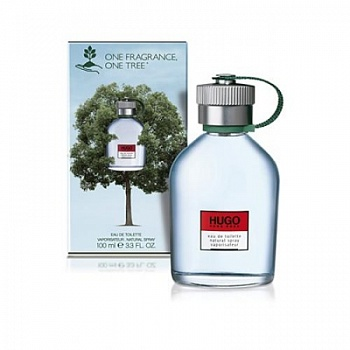 Hugo Boss  HUGO men зелёный 100ml ONE TREE