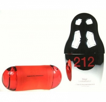 Carolina Herrera  212 SILVER   60ml edt