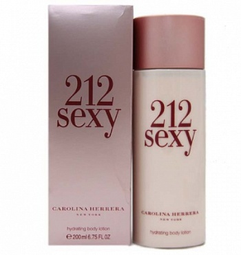 Carolina Herrera  212 SEXY 200ml B/Lotion