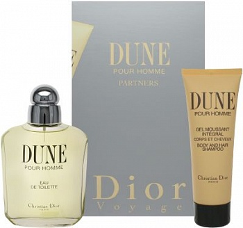 Christian Dior DUNE men 100ml+75s/g SET