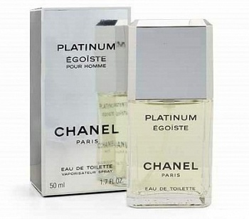 Chanel  Egoiste PLATINUM men   50ml